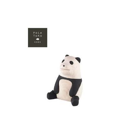 日本T-Lab職人手做 療癒系 木質動物-熊貓