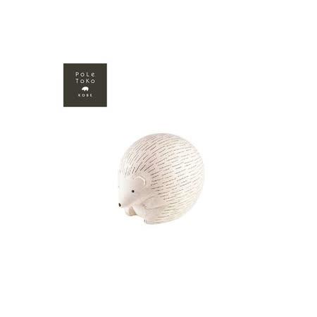 日本T-Lab職人手做 療癒系 木質動物-刺蝟