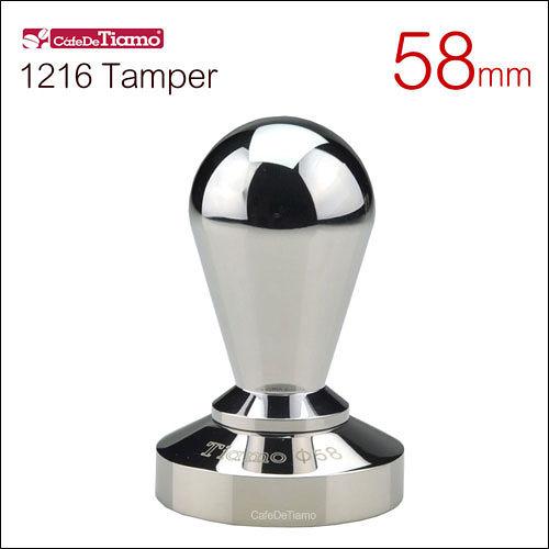 Tiamo 1216 全不鏽鋼填壓器 亮面  58mm HG3744