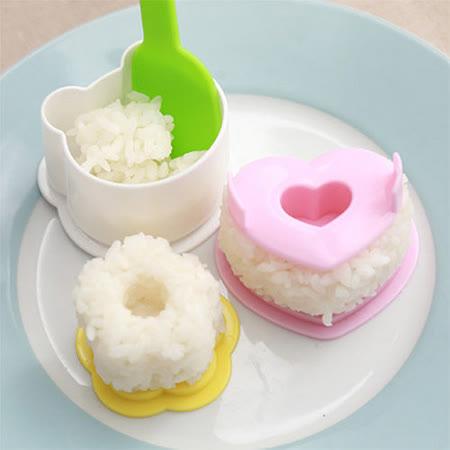 可愛熊貓飯糰模具四件組(不挑色/款)
