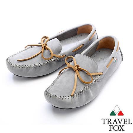 Travel Fox 溫布萊帆船鞋913852(灰-13)