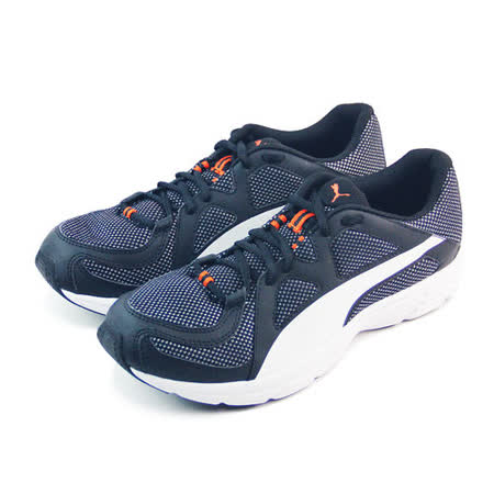 (男)PUMA AXIS V3 MESH 慢跑鞋 黑/白-35772708