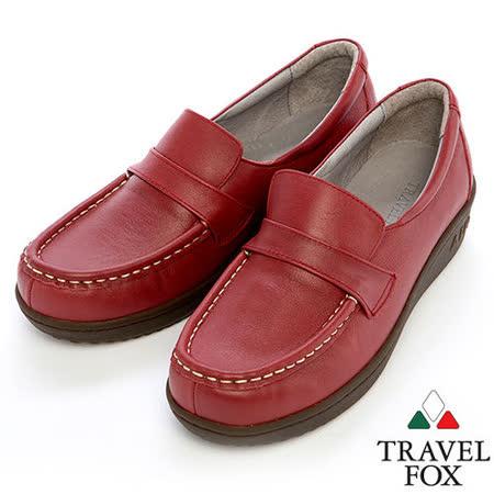 Travel Fox SOFT-1.5柔軟氣墊鞋914830(紅-04)
