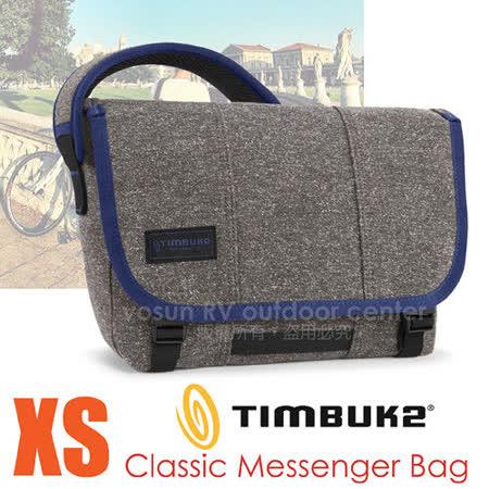 【美國 TIMBUK2】新款 Classic 經典款信差包(XS,9L) /116-1-1036 深灰/藍