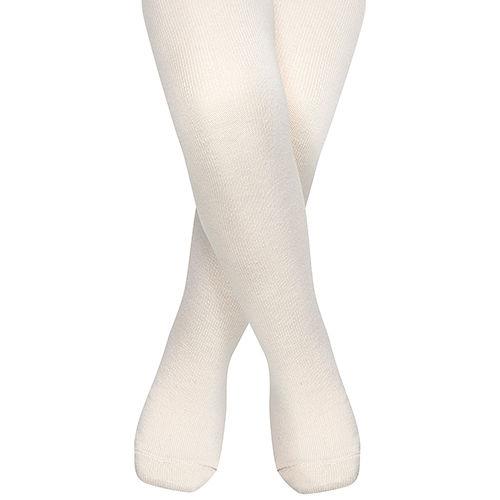 英國 JoJo Maman BeBe 柔細寶寶兒童內搭褲襪/保暖襪_米白(JJT002)
