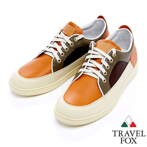 Travel Fox 狐躍 休閒鞋915109^(米多色~84^)