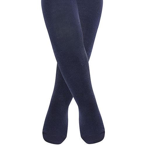 英國 JoJo Maman BeBe 柔細寶寶兒童內搭褲襪/保暖襪_海軍藍(JJT004)