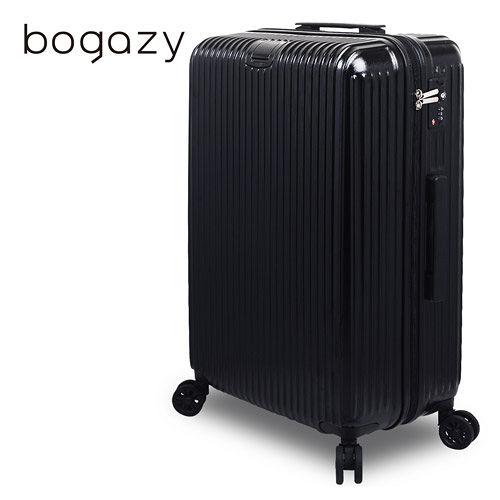 【Bogazy】城市行者 29吋電子抗刮高雄 大 遠 百 wifiPC旅行箱(黑色)