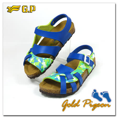 【GP】兒童柏肯鞋31-35尺碼-B553-26   藍綠色 共二色