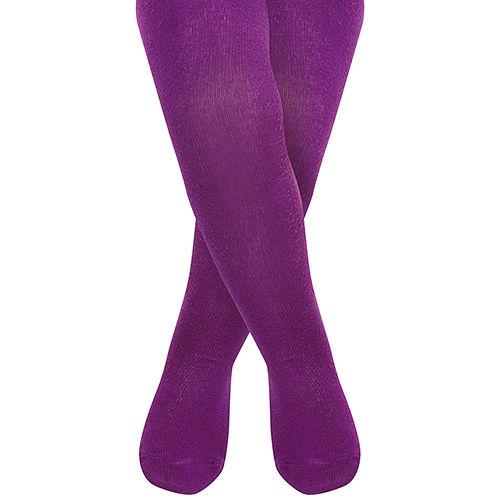 英國 JoJo Maman BeBe 柔細寶寶兒童內搭褲襪/保暖襪_葡萄紫(JJT012)