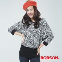 BOBSON 兩件式上衣(黑色33080-88)
