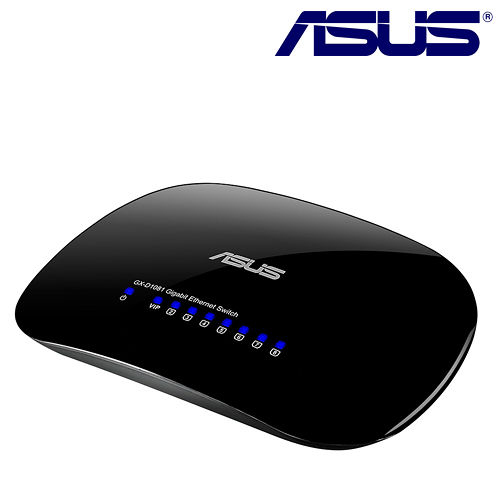 ASUS 華碩 GX-D1081 8埠 節能型交換器