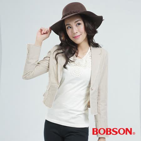 BOBSON 外套(淺卡其65096-72)
