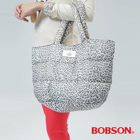 BOBSON 豹紋空氣包-豹紋咖 33141-03