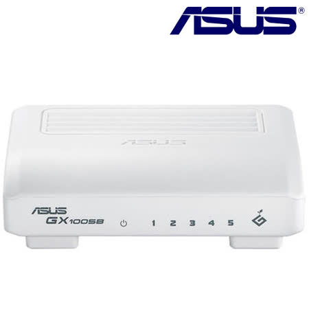 ASUS 華碩 GX1005B 5埠 節能型交換器