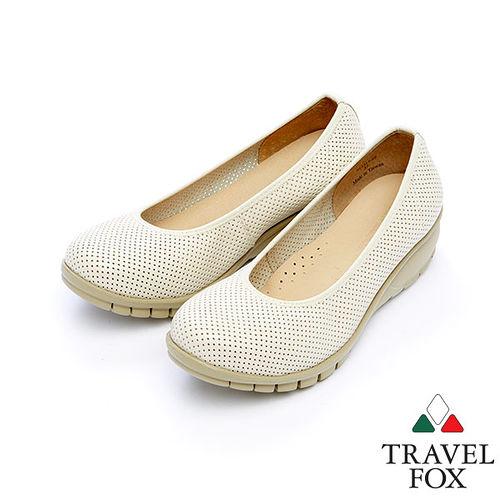 女Travel Fox 2網點舒適輕量楔型鞋915317^(米~82^)