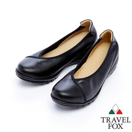 女Travel Fox 2輕量和式楔型鞋915318^(黑~01^)