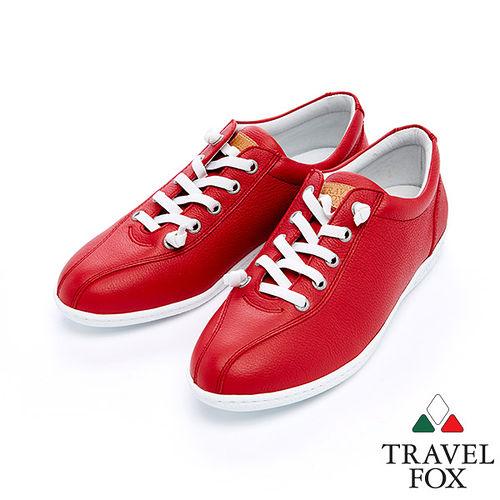 女Travel Fox 舒適健走鞋915381^(紅~04^)