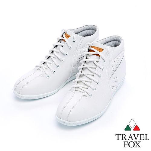 女Travel Fox 蘿拉娜塔休閒鞋915385^(白~07^)