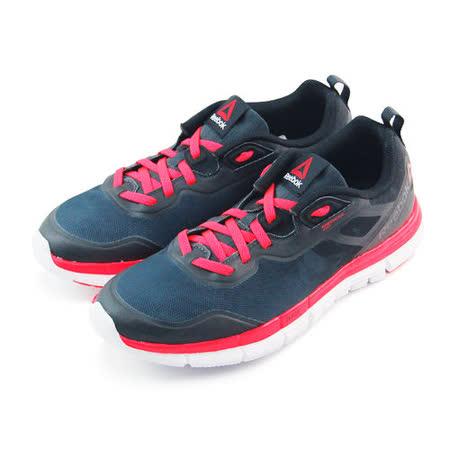 (女)REEBOK ZQUICK SOUL 慢跑鞋 黑/亮紅-V66328