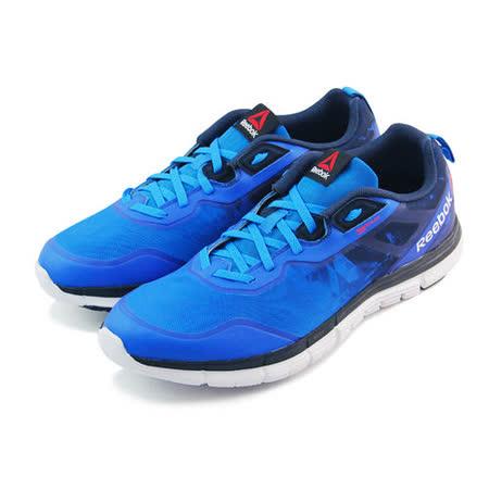 (男)REEBOK ZQUICK SOUL 慢跑鞋 藍-V66319