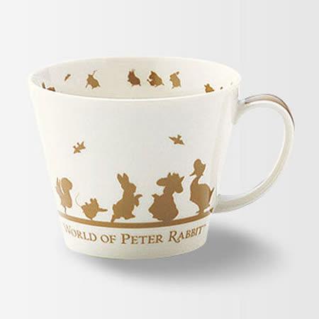 【クロワッサン科羅沙】Peter Rabbit~ 經典比得兔 PI 大馬克杯(朋友)