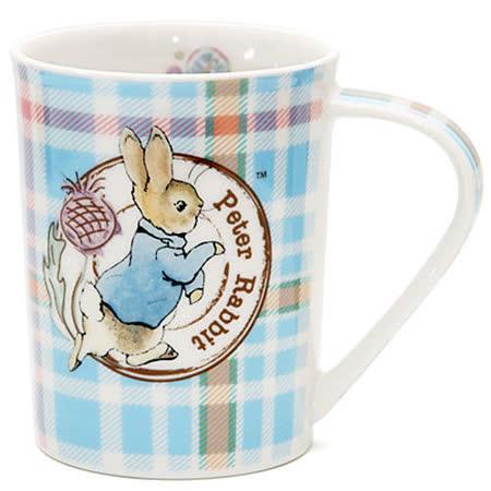 【クロワッサン科羅沙】Peter Rabbit~ 經典比得兔 PI馬克杯格紋兔