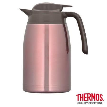 THERMOS膳魔師 不鏽鋼真空保溫壼1.5L 粉色(THV-1500)
