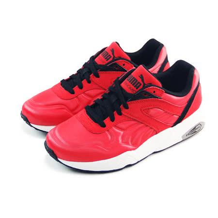 (男女)PUMA R698 MATT & SHINE 休閒鞋 紅/黑-35930501