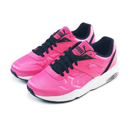 (女)PUMA R698 MATT & SHINE 休閒鞋 桃紅/黑-35930506
