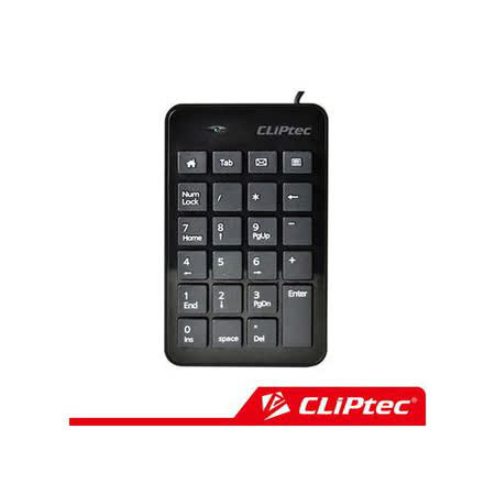 CLiPtec RAPID 薄型數字鍵盤