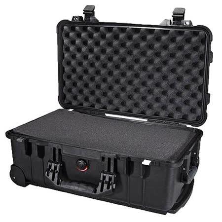 美國 PELICAN 1510氣密箱(含吸震泡棉/黑色)