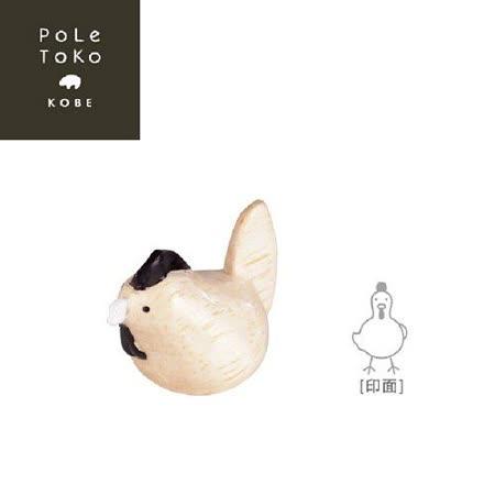 日本T-Lab 職人手做 療癒系 木質動物 12生肖印章 - 雞