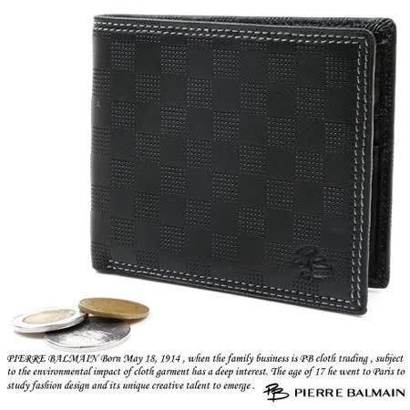 PB-皮爾帕門【CHESS 棋盤格】10卡2夾1袋 皮夾P517002