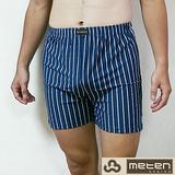 METEN 簡約型男針織平口褲6件組(隨機取色)