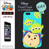 TSUM TSUM 迪士尼正版授權 IPHONE 6 4.7吋 i6立體手機軟膠套(三眼怪+巴斯光年)