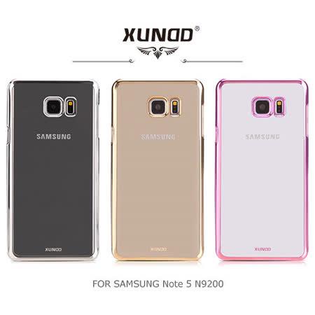 XUNDD Samsung Note 5 N9200 N9208 爵士電鍍保護殼