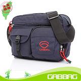 GABBAG三層次側背包(iPad平板可入)(藍)(GB14108-47W)