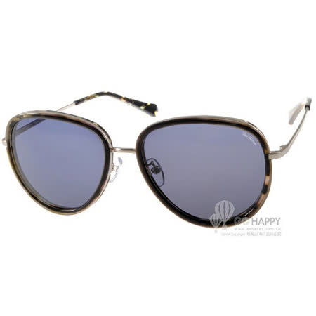 PAUL HUEMAN太陽眼鏡 韓系復古 (綠琥珀-銀) #PHS1055A C5-1