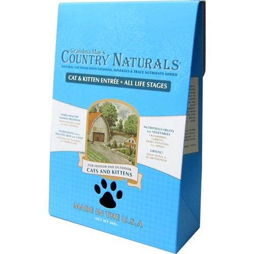 Country Naturals 格然斯 鄉村時光 雞肉鯡魚 成幼貓配方 3磅 X 1包