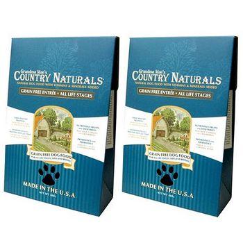 Country Naturals 格然斯 雞肉白鮭魚 無穀成幼犬配方 14磅 X 2包