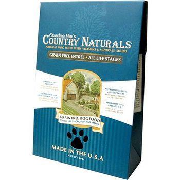 Country Naturals 格然斯 雞肉白鮭魚 無穀成幼犬配方 28磅 X 1包