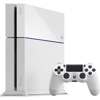 PS4 500G 主機 1200 型 冰河白
