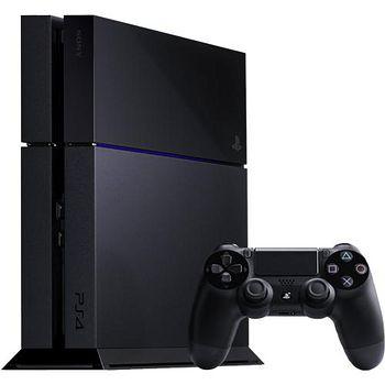 PS4 500G 主機1200型 極致黑