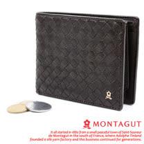 MONTAGUT-夢特嬌【時尚編織】7卡1照片1袋 皮夾651003