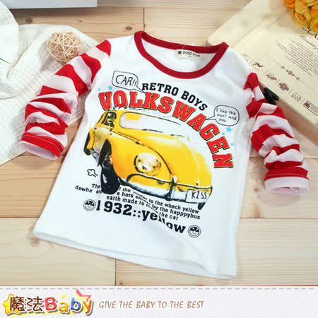 魔法Baby~兒童長袖T恤 k42695