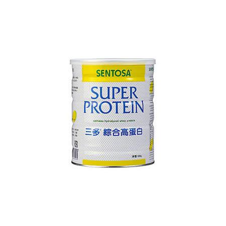 【三多】三多綜合高蛋白 500g 濃縮乳清蛋白和水解乳清蛋白