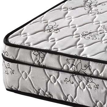 【尚牛床墊】三線高級緹花布硬式彈簧床墊(18mm釋壓棉)-單人特大4尺