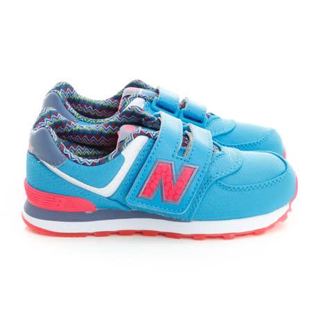 New Balance (童)574系列魅力經典復古鞋-淺藍-KV574S5Y
