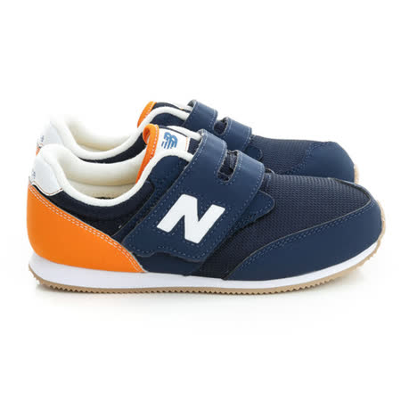 New Balance (童)時尚有型舒適慢跑鞋-藍-KV620NVP